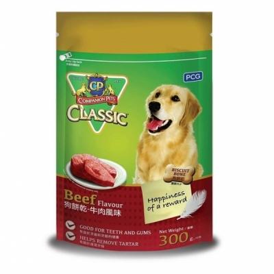 CP Classic - Dog Biscuit Bone Beef BBQ 300g