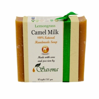 Camel Milk Lemongrass Soap