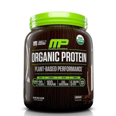 Organic Protein, Plant-Based, Chocolate