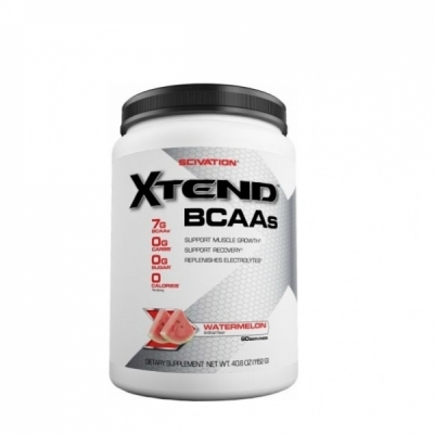 Scivation Xtend BCAA Powder, Branched Chain Amino Acids, BCAAs - Watermelon