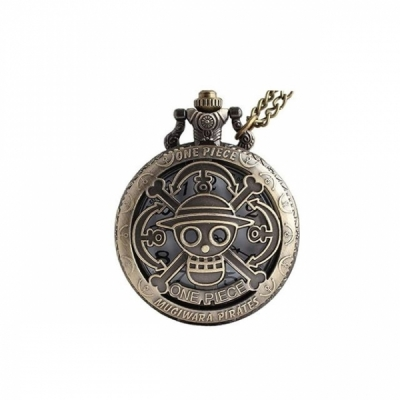 One Piece Pocket Watch Necklace