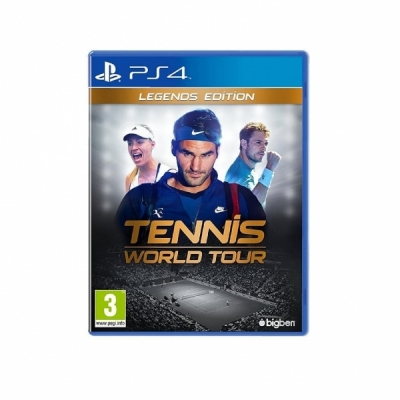 Tennis World Tour - Legends Edition PS4