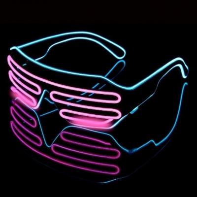 Lighting 2 colors Glasses LED