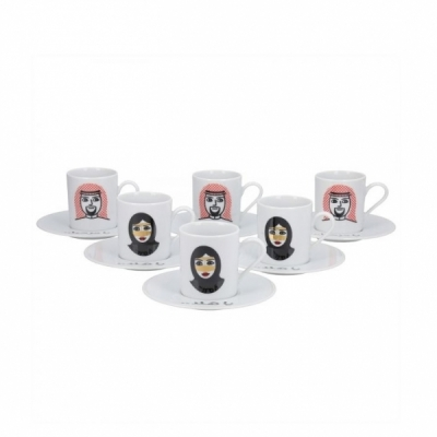 Turkish Cups  Set of 12-Piece
