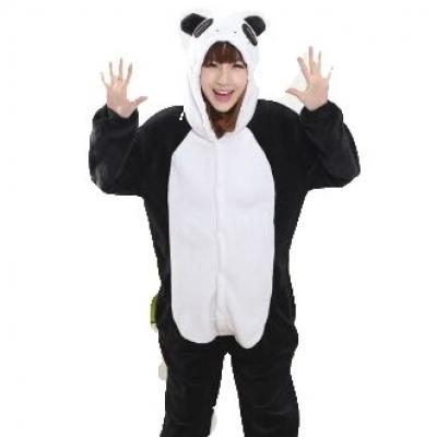 Panda costume clothes
