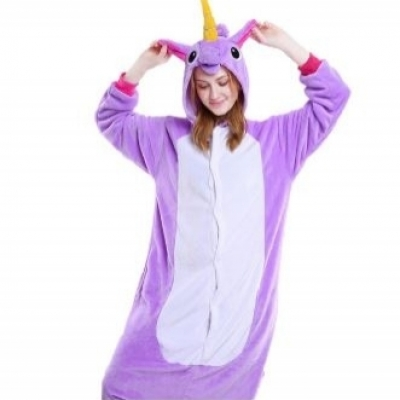 Purple Unicorn costume clothes