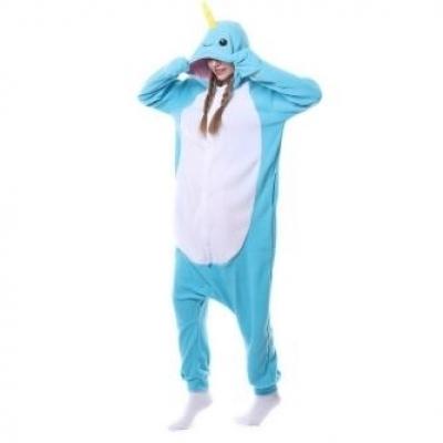 Blue costume clothes