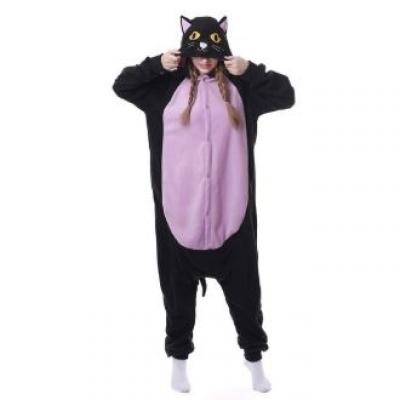 Black cat costume clothes