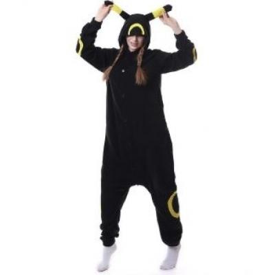 Black Yellow costume clothes