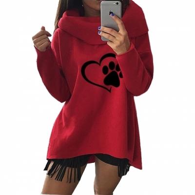 Dog lover hoodies scarf