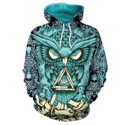Hoodie Owl Casual