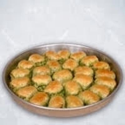 Dilber Dudagi with pistachio