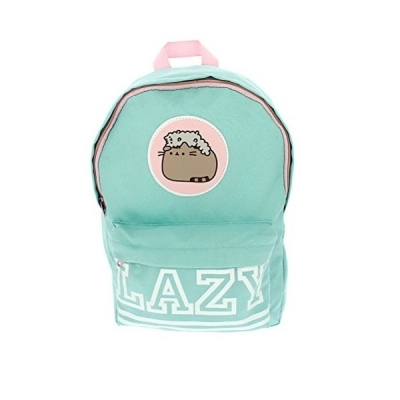 Pusheen Lazy Design Lightweight Backpack Rucksack School Bag