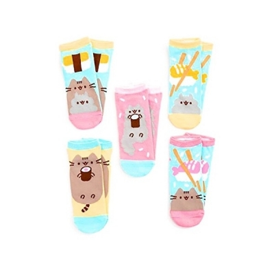 Pusheen Cat Sushi Juniors Ankle Socks