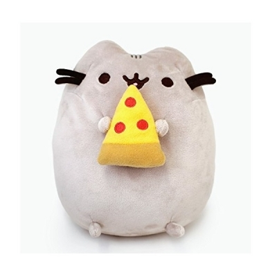 Pusheen Snackable Pizza Stuffed Animal Cat Plush