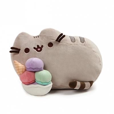 Pusheen Snackable Ice Cream Sundae Stuffed Animal Plush