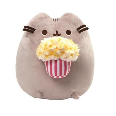 Pusheen Snackable Popcorn Cat Plush Stuffed Animal