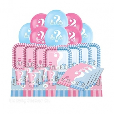 Baby Shower Essential Party Pack from Gender Reveal