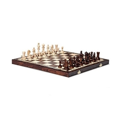 Hand Crafted Tournament 76 Wooden Chess Set