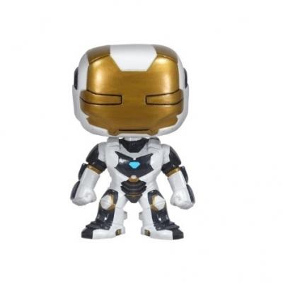 Iron Man Movie 3: Deep Space Suit Vinyl Bobble Head Action Figure