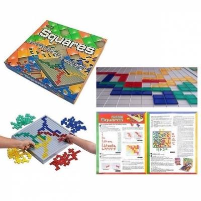 Squares Strategic Game For Family