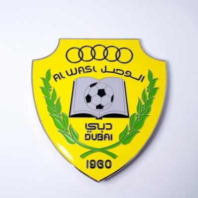Car badge al Wasl club logo