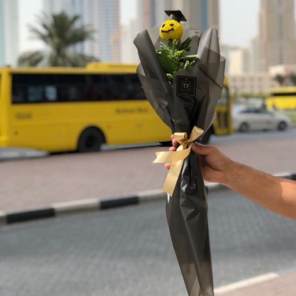 One flower - graduation