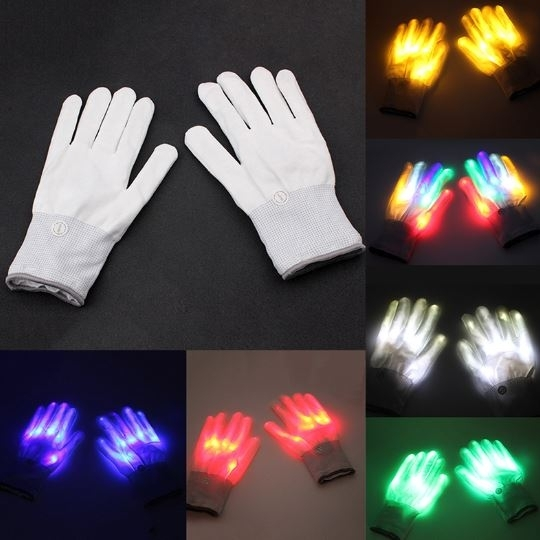 Lighting gloves LED