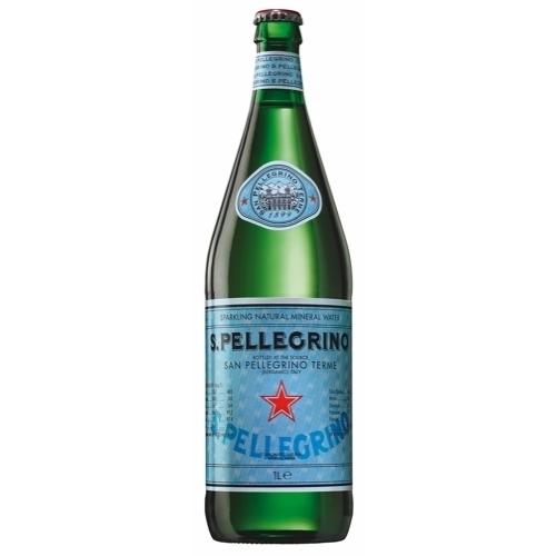 1 L - Glass s. pellegrino
