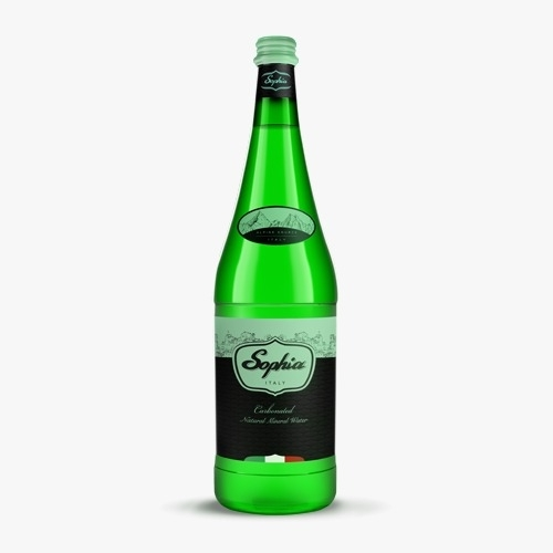 1 L - Glass Sparkling Water