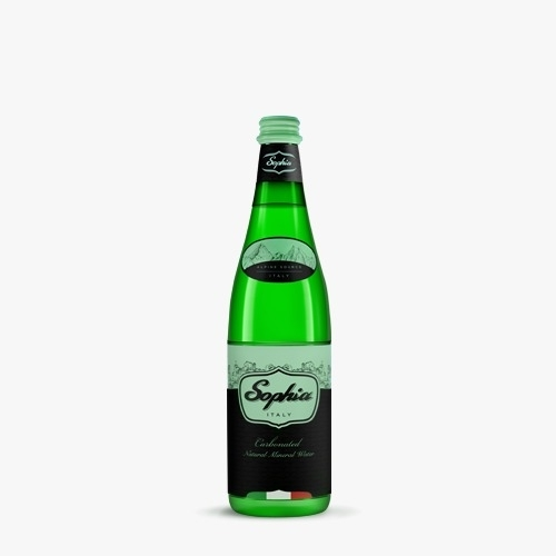 500 ml - Glass Sparkling Water