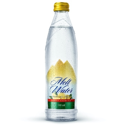 330ml - Glass Sparkling Water Lemon Flavor