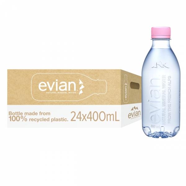 Evian 400ml x 24